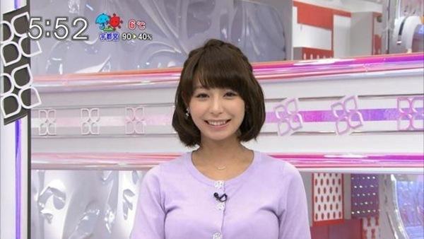 TBSの女子アナ宇垣美里3