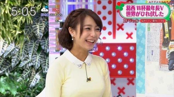 TBSの女子アナ宇垣美里5