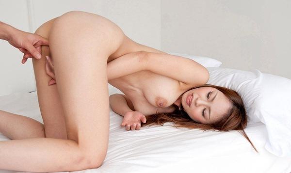 【桜花えり】キスから陰部へ全裸ヌードなスローセックスエロ
