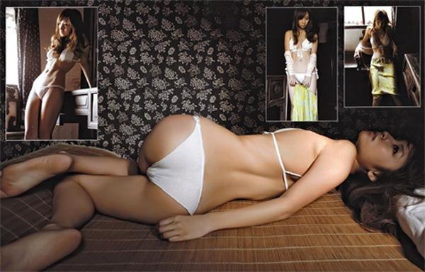 【木口亜矢】巨乳おっぱいと股間モッコリ画像