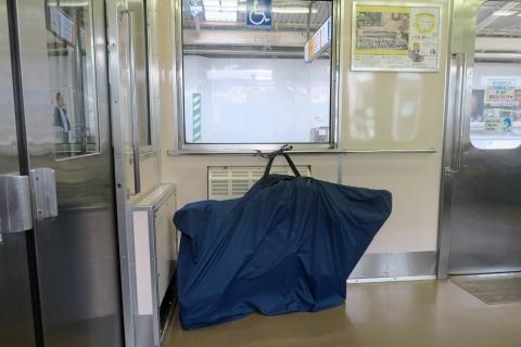 01伊東線で輪行