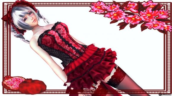 プレイクラブ Lolita One-piece Dress コルセット黒色化