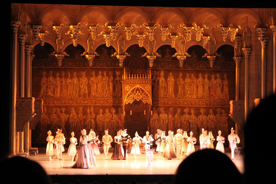 良く分からない日記 ロシア旅行記2014:マリンスキー劇場で ...