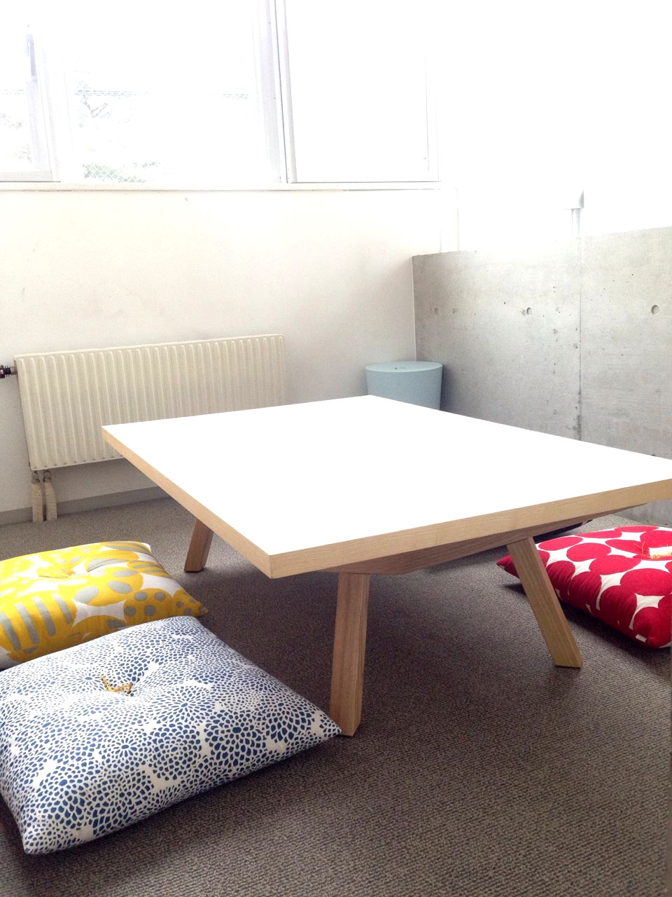 あたらしいテーブル
