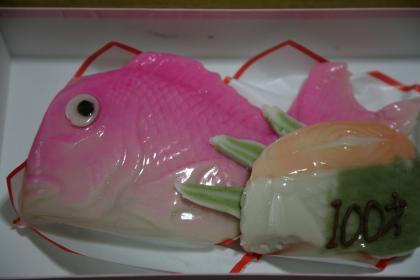 お祝い生菓子