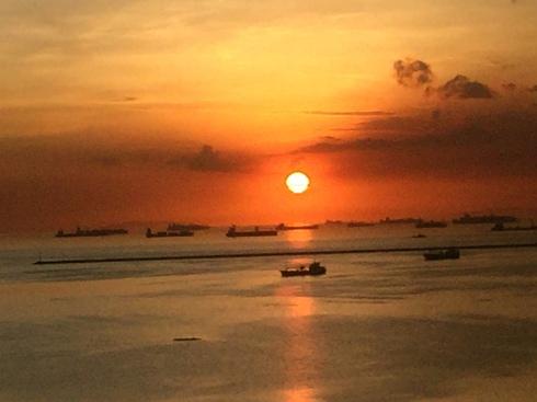 東南アジア サンセット