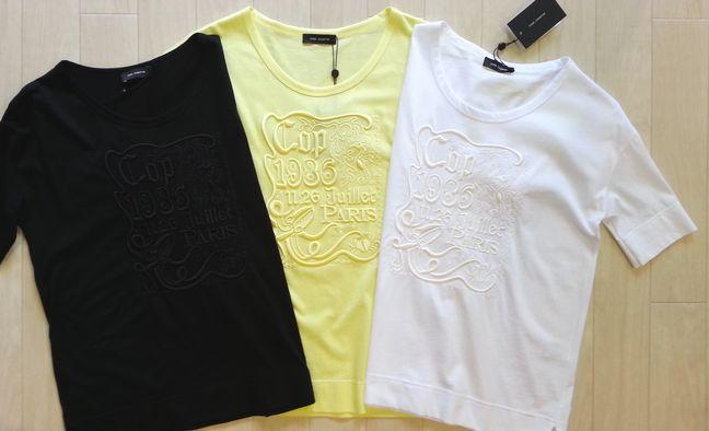 cop-copine刺繍コットンTシャツ②