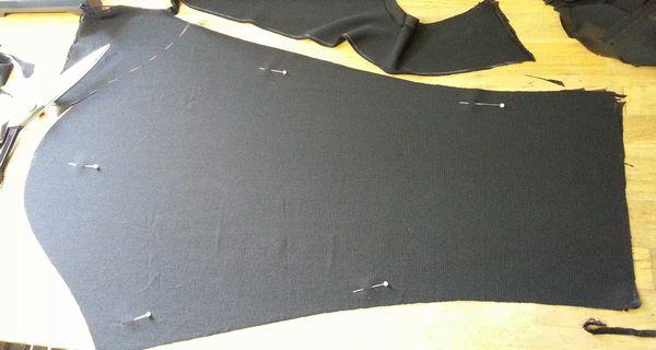 リメイク・半袖パフスリーブを長袖に②