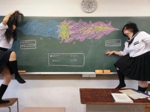 黒板バトルポケモン