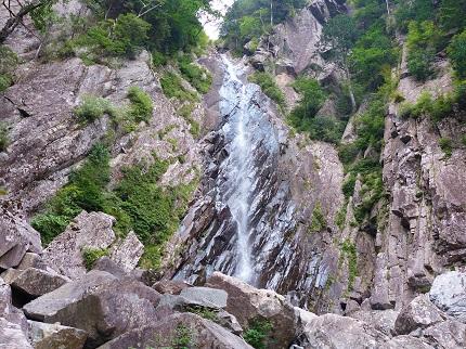御来光の滝_その3