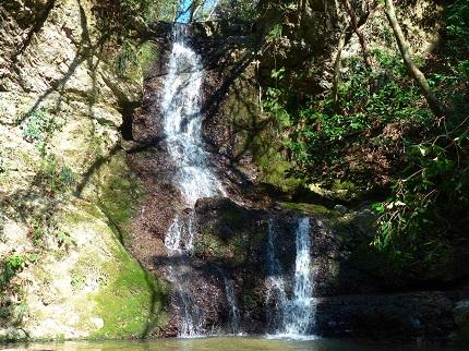 前蔵引の滝_その1