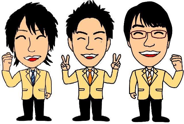 新駅前店スタッフ似顔絵3名