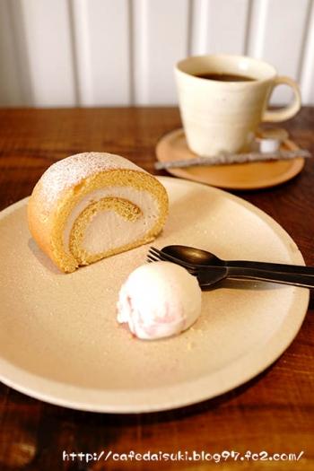 aminchi◇桜のロールケーキ