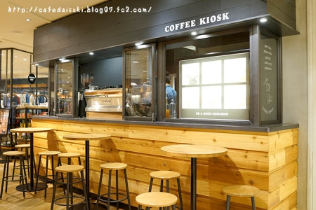 BE A GOOD NEIGHBOR COFFEE KIOSK SKYTREE◇店内