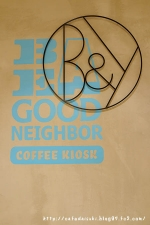 BE A GOOD NEIGHBOR COFFEE KIOSK SKYTREE◇表札