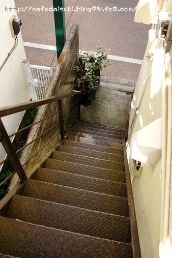 ひなた焼菓子店◇階段