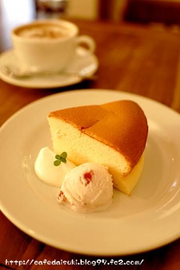 iijima coffee◇チーズケーキ