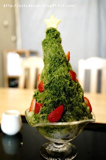 寿氷-juhyo- 世界一を目指すかき氷◇クリスマスかき氷