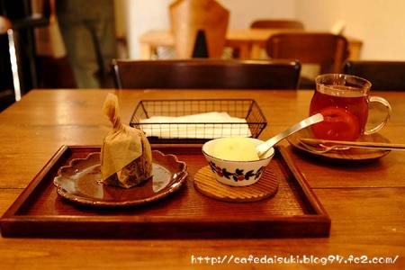 CAFE & DELI ケトル◇カヌレセット(オレンジロシアンティー)