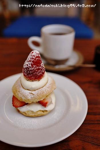 きたもとアトリエハウス◇Strawberry&Scone & Coffee