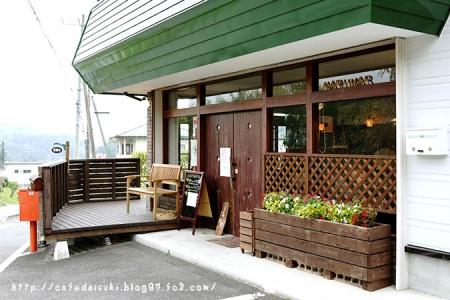 cafe narumari◇エントランス