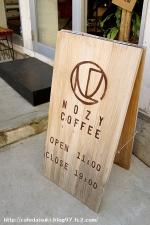 NOZY COFFEE◇看板