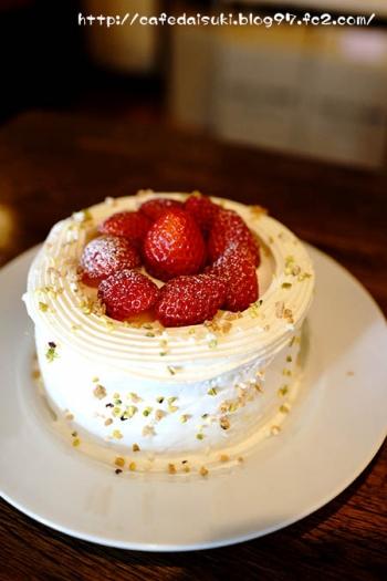 神山バル セバスチャン◇いちごのショートケーキ