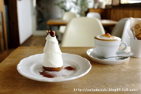 TARO CAFE◇モンブラン&シナモンカフェラテ