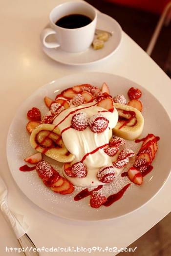 CAFE VANNIER◇いちごのショートケーキ