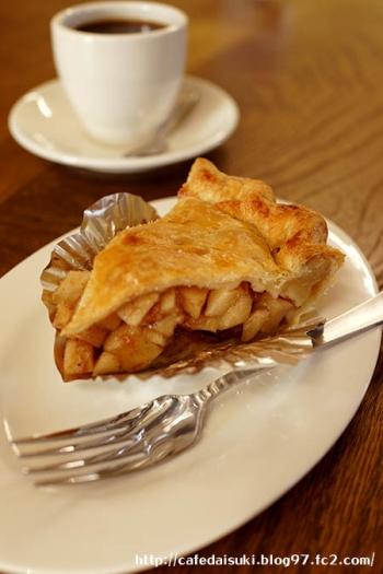 Y's Muffin Coffeehouse◇アップルパイ