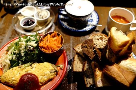 Ruheplatz Zopf◇ゆっくり朝食(キノコ入りトロトロオムレツ)