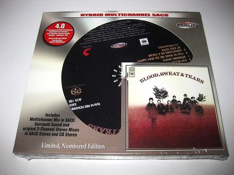 Blood Sweat & Tears / Blood Sweat & Tears [Hybrid SACD Audio Fidelity] - Exile On Main ...