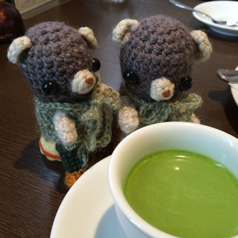 ブルームーンカフェにて。