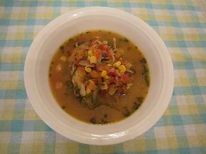 玉ネギおばさんの贅沢トマトスープ