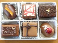 プチチョコレートケーキ