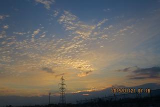 朝の空・2