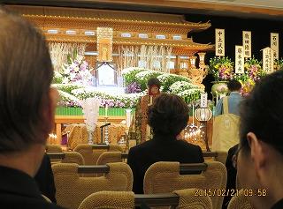 石川家の葬儀