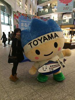 東京駅のkitteで李さん