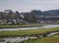 井田川の流れ