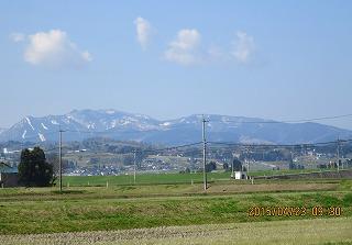 牛岳・残雪