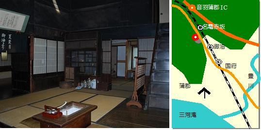 赤坂宿マップ