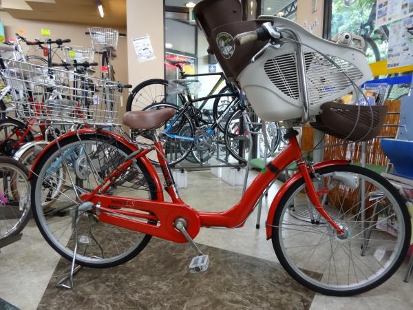 子乗せ自転車