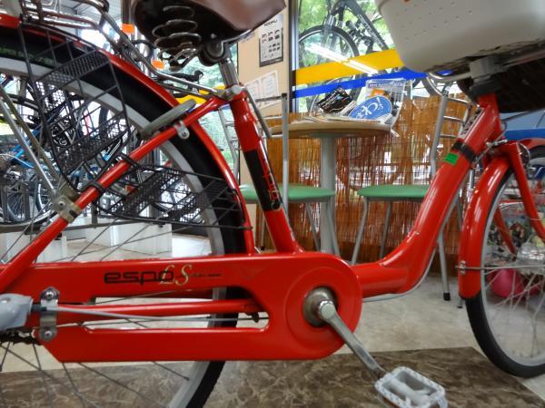 子乗せ自転車-2