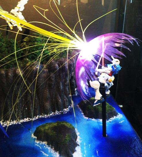 ガンプラEXPOジャパンツアー ジオラマ