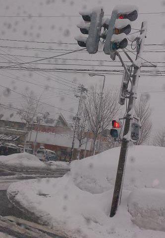 雪国の信号