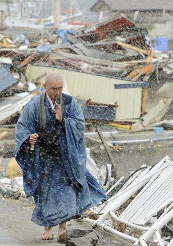 震災後 僧侶