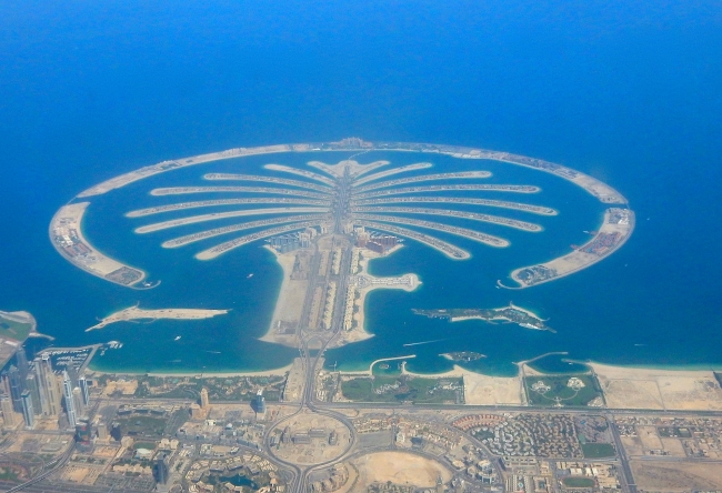 Palm Jumeirah from the Air