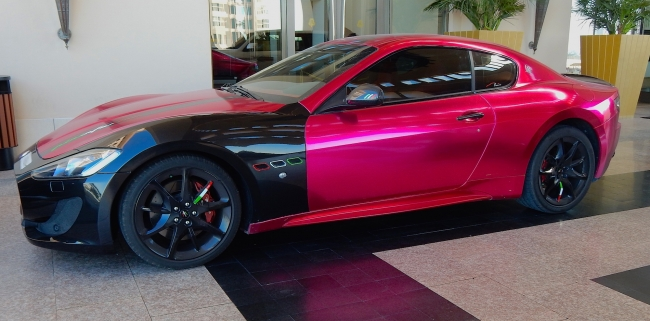 Maserati GT Metric Pink 1