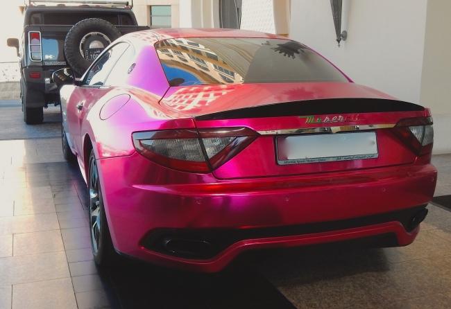 Maserati GT Metric Pink 2