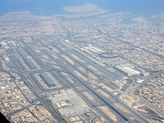 DXB from the Air